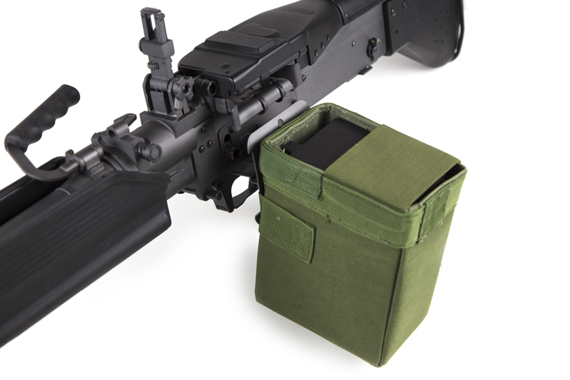 Box type magazine machine gun