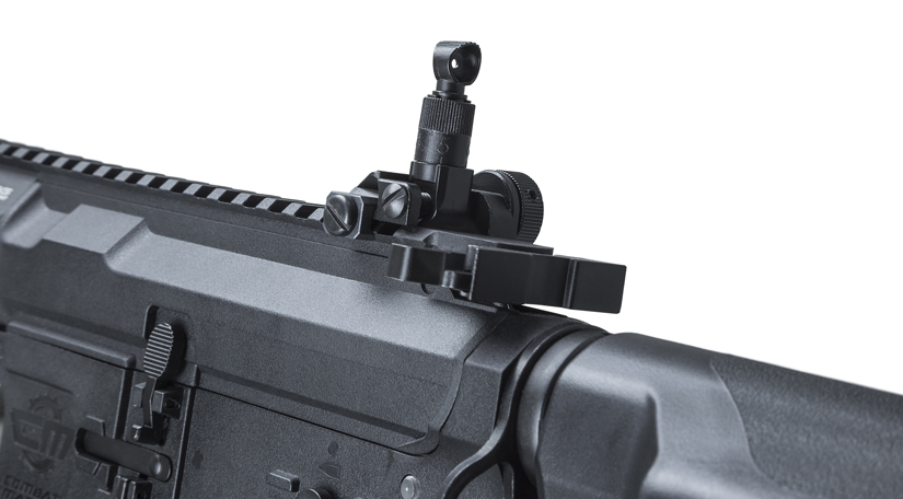 M4 Cobra rear sights