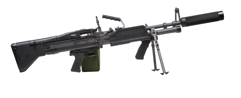 Mk43 lasertag machinegun