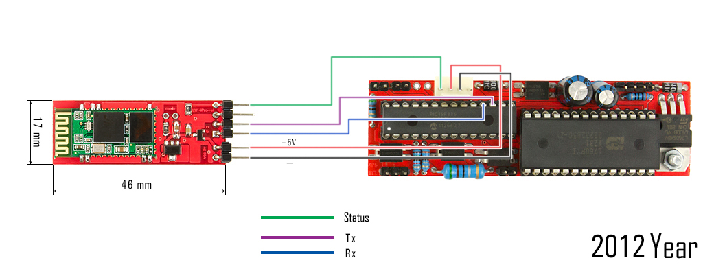 Laser tag Bluetooth circuit diagram