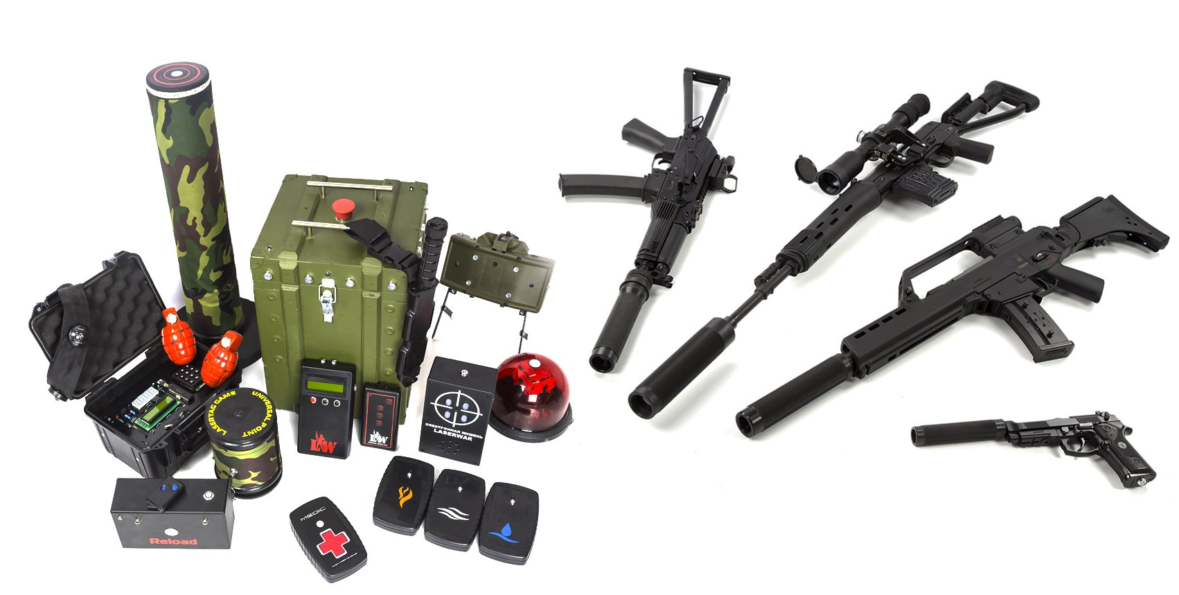 Outdoor Laser Tag Equipment From Laserwar
