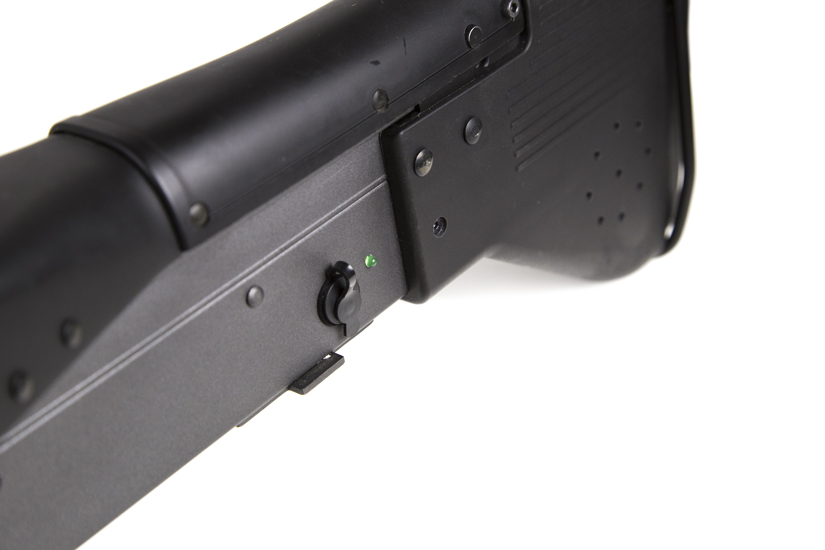 mk43 machine gun laser tag buttstock