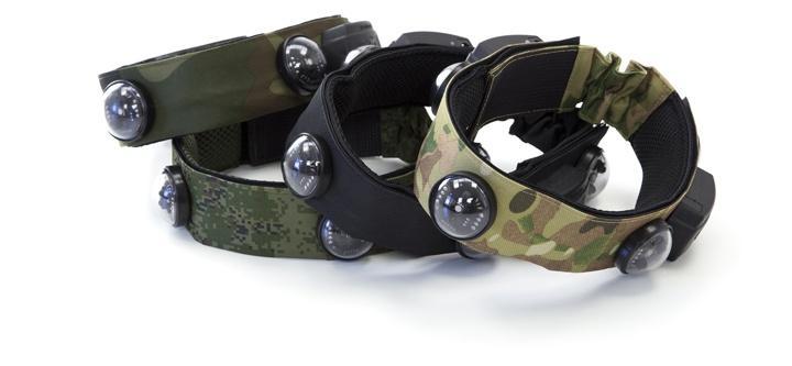 Hit Sensors Vests And Headbands Laser Tag Hostage Lite Rgb