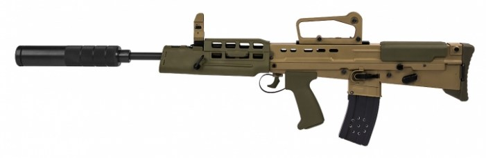 laser tag L85A1 assault rifle