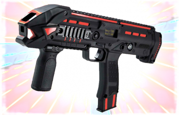 Nonmilitary Laser Tag Set