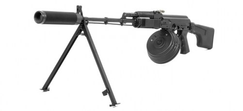RPK 74s kalashnikov machine gun for laser tag